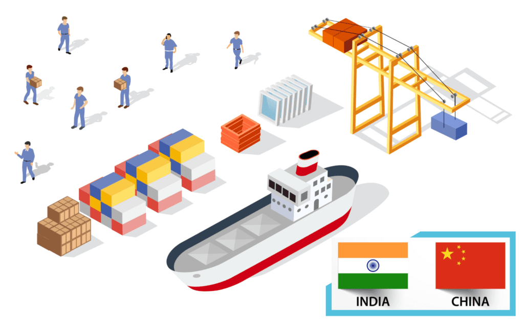 China to India Freight