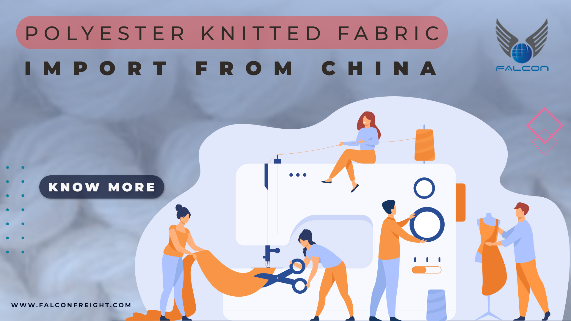 About Polyester Knitted fabric Import From China To India