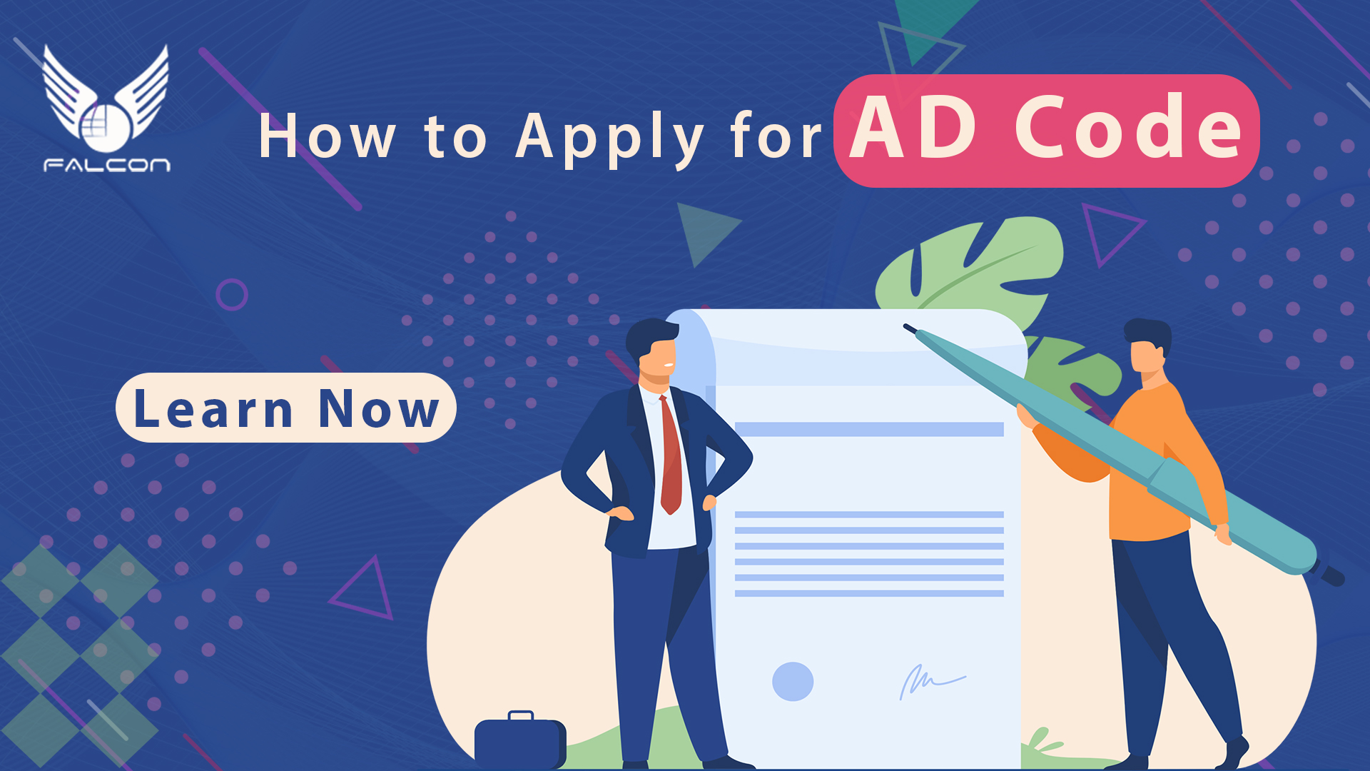 Learn How to Apply for AD Code