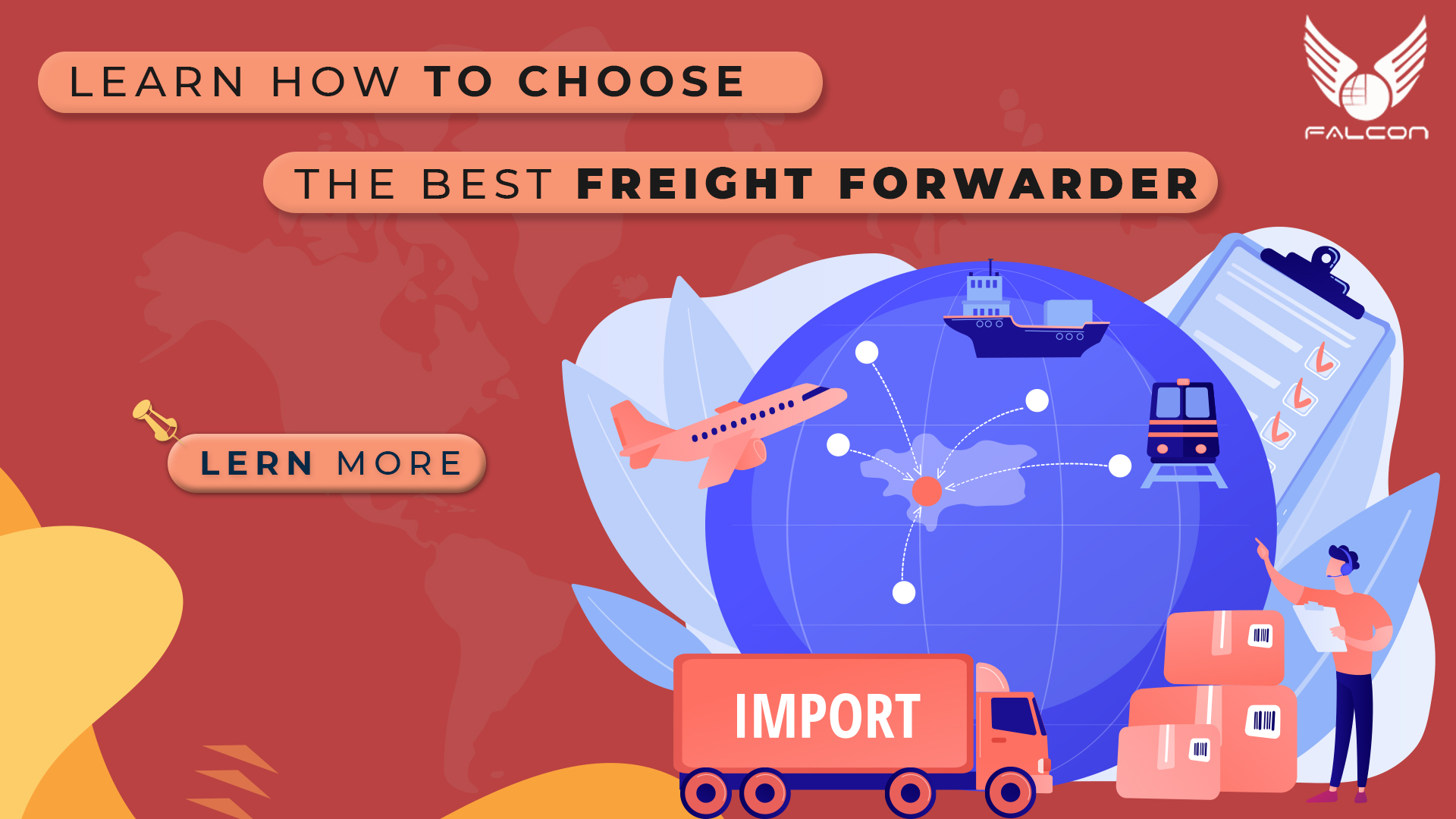 choose the best freight forwarder