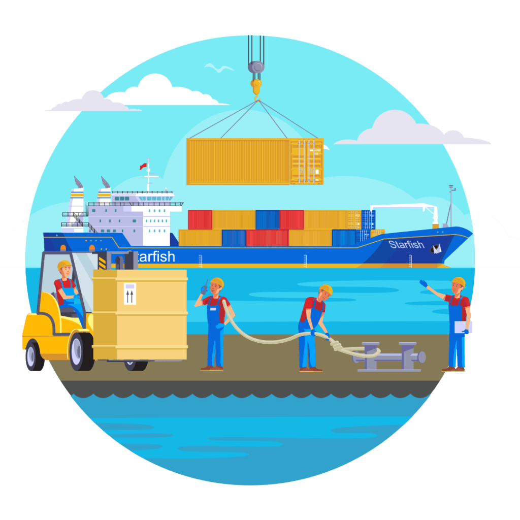 Sea Freight Shipping China To Delhi, India