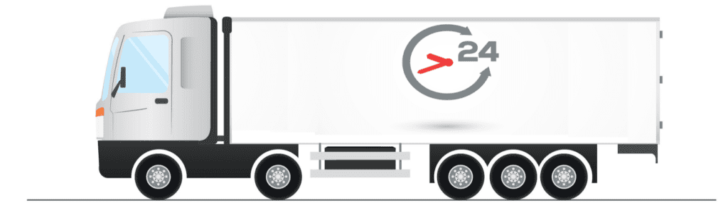 24 hours international logiestics services and transportation - Strip
