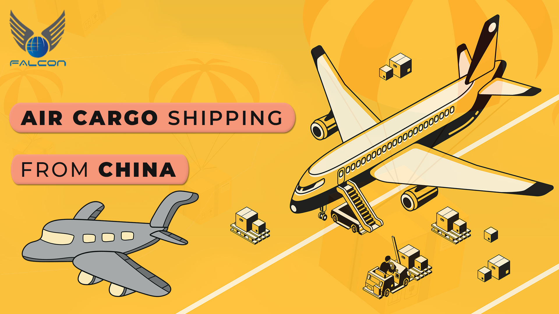 Air cargo shipping from China
