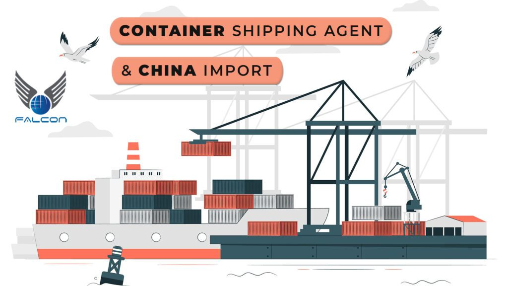 China Container shipping agent