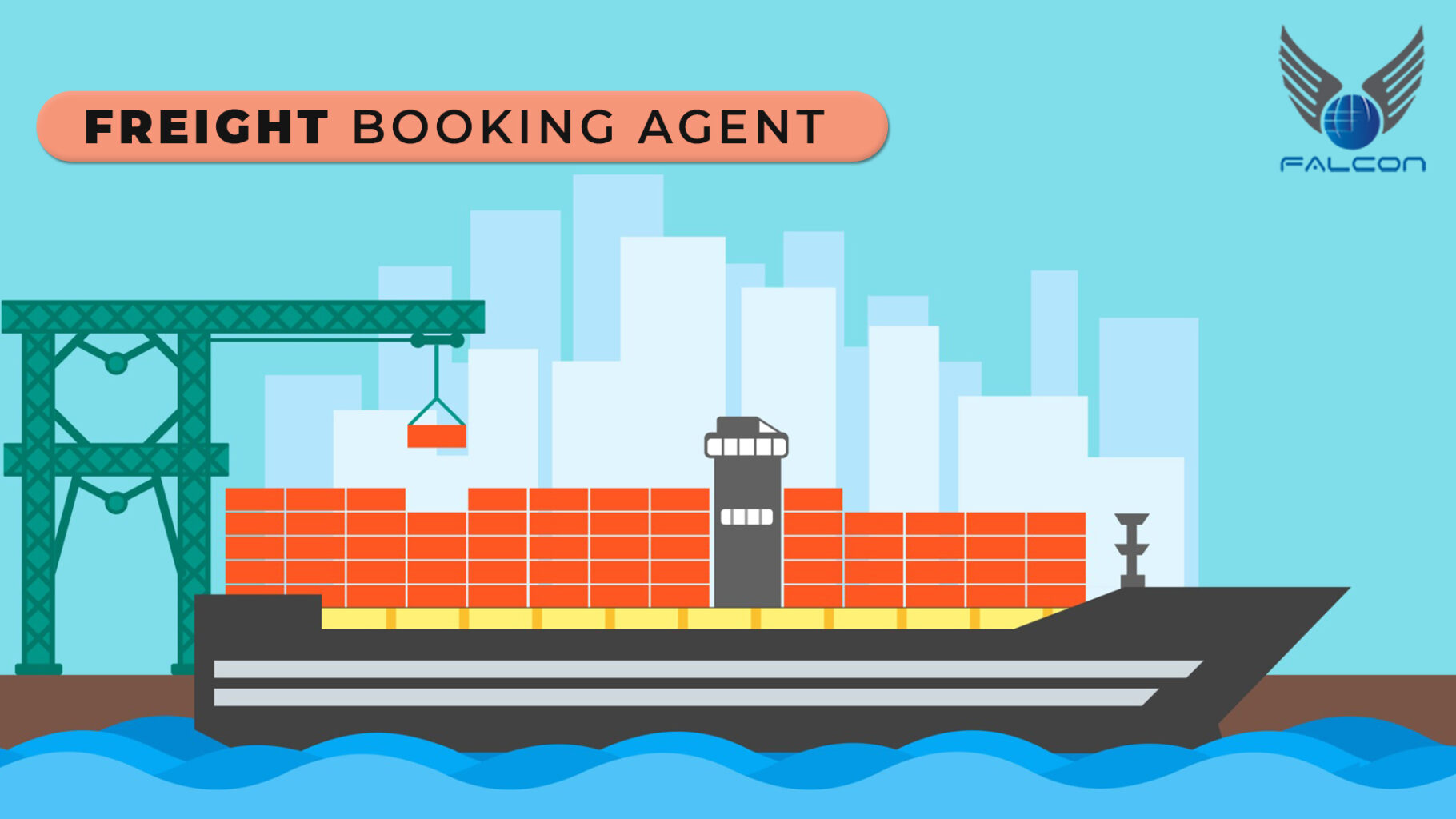 Freight booking agent