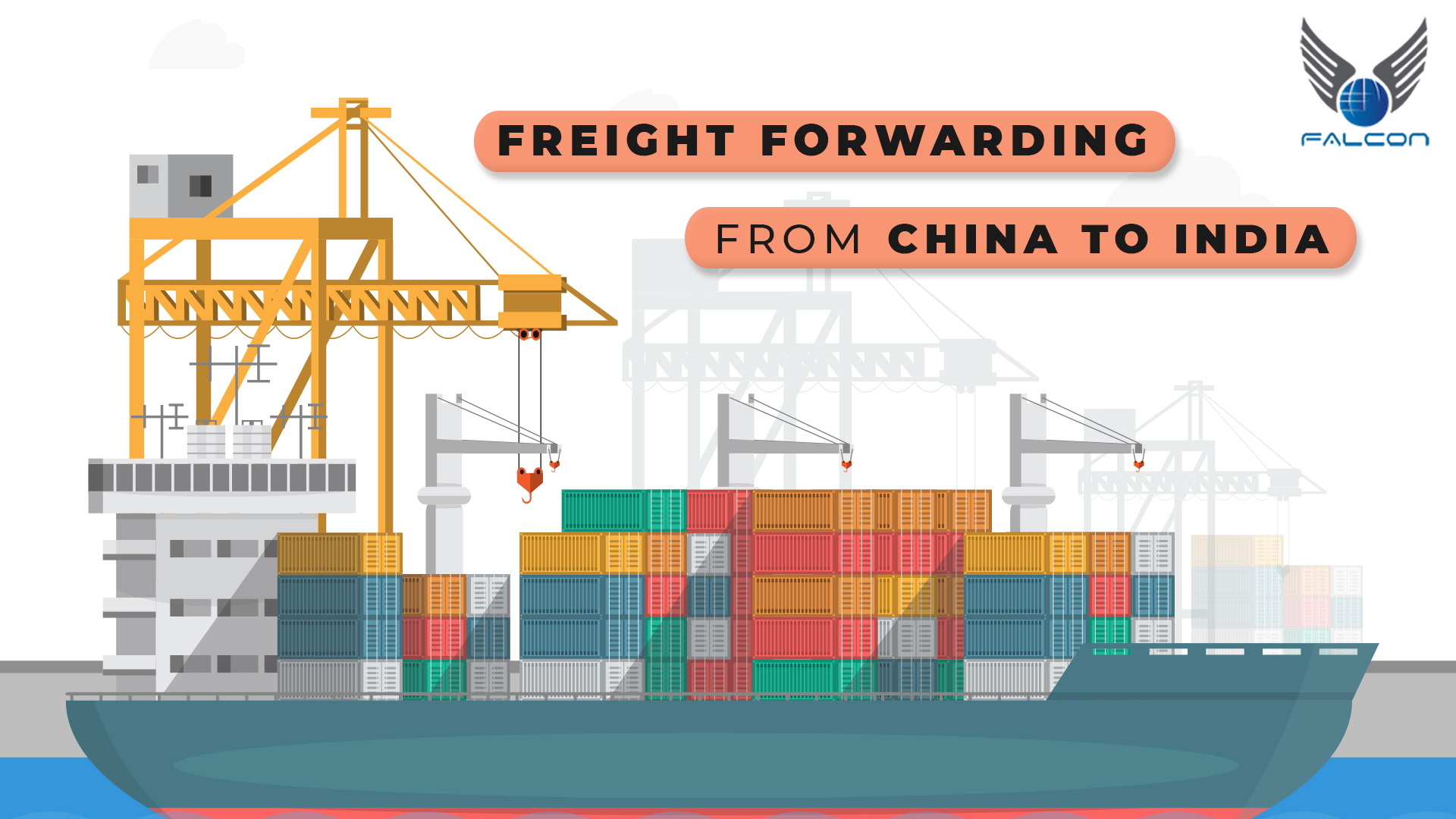 Freight forwarding from China to India
