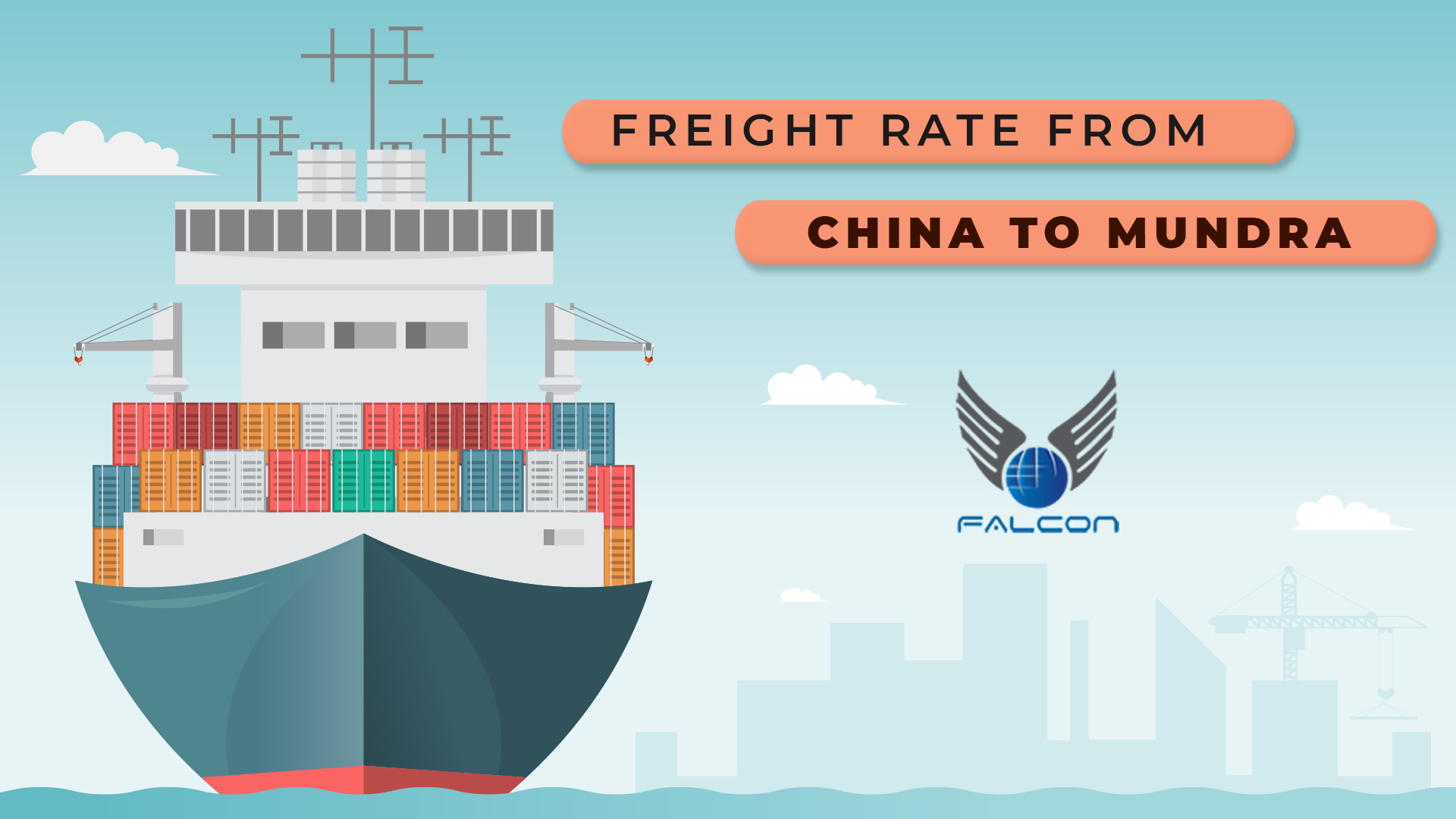 Freight rate from China to Mundra