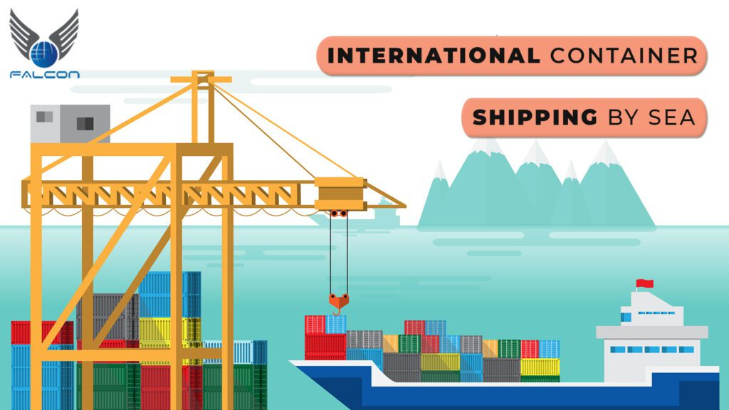 International container shipping by sea