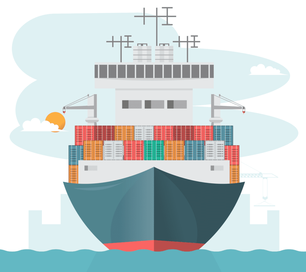 Import Custom Clearing Agents, Sea import shipping services