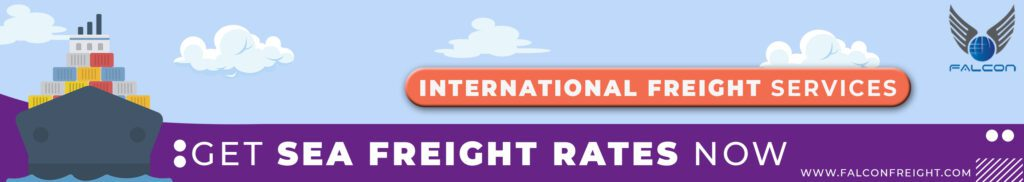 get sea freight rates online