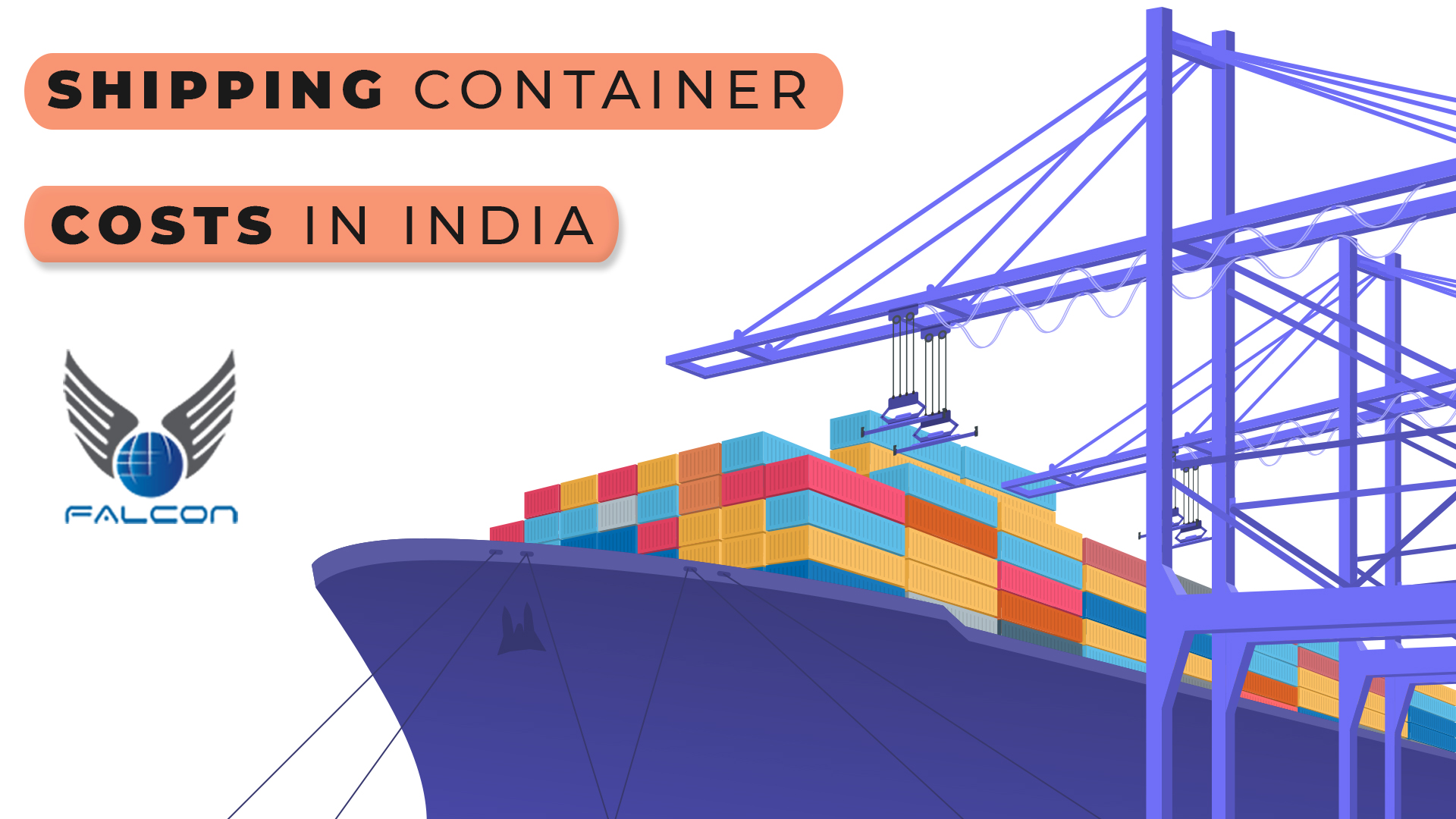 shipping container costs in India